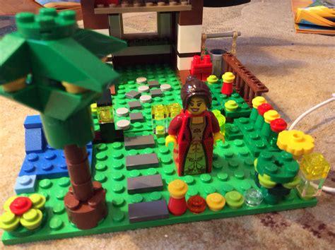 lego ellenor and garden lego photo 36727276