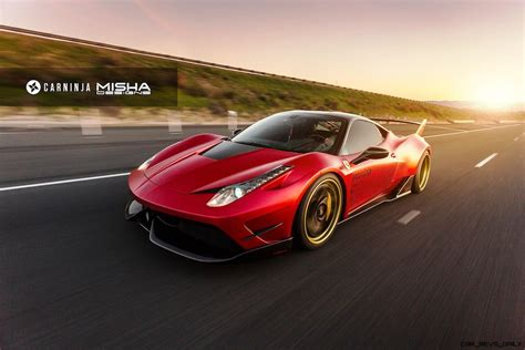 ferrari 458 widebody update1 ferrari 458 widebody by misha designs is