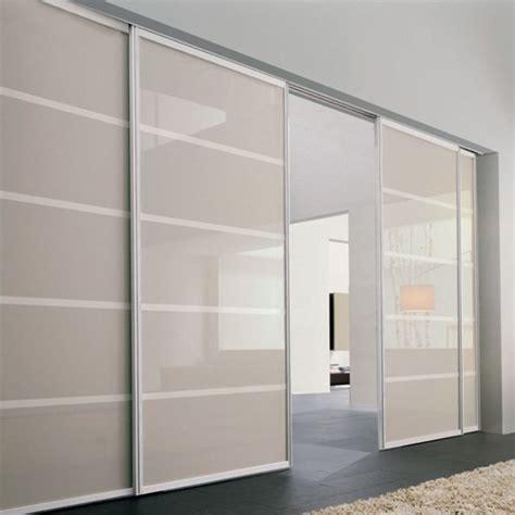 porte scorrevoli a soffitto cheap porta plana free minimal vetro sabbia with porte