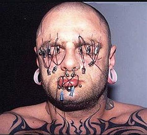 extreme tattoo body piercing most extreme piercings odd strange weirdest things