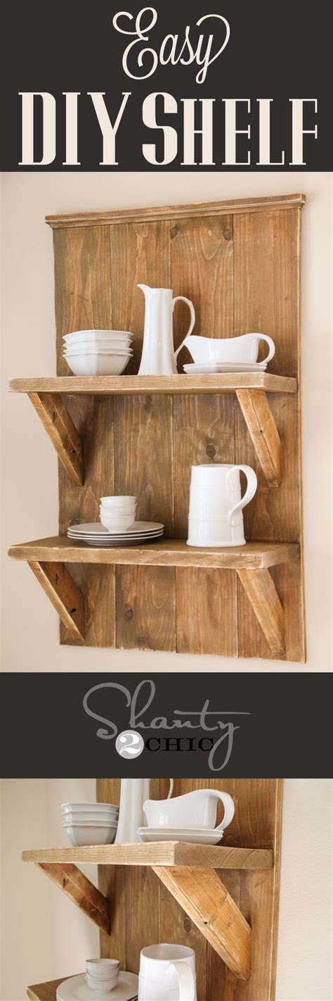 Trazodone Shelf by Easy Diy Shelf Made With Reclaimed Lumber Looks So Easy