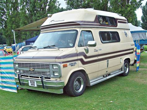 chevy motorhome chevrolet g20 cer van autos post
