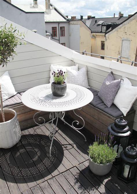 kleiner balkon ideen ideen f 252 r einen kleinen balkon wohninspirationen