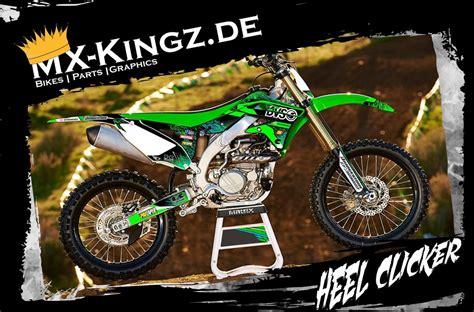 dekor motocross kawasaki dekor im heel clicker design mx kingz motocross