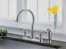 delta vessona kitchen faucet delta vessona kitchen bathroom faucets