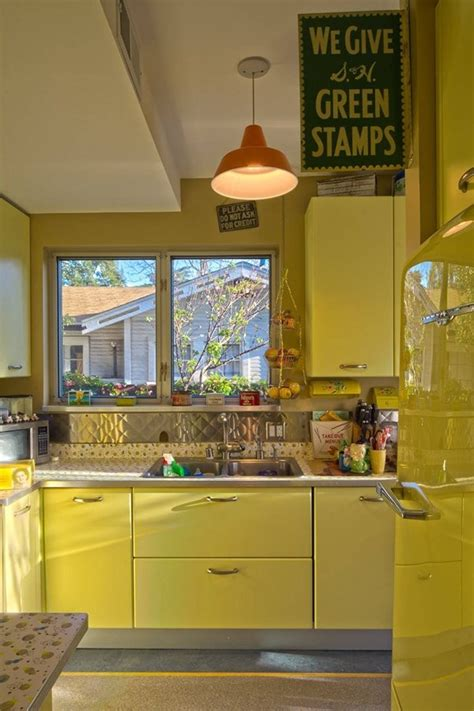 yellow kitchen decor yellow touch to your kitchen
