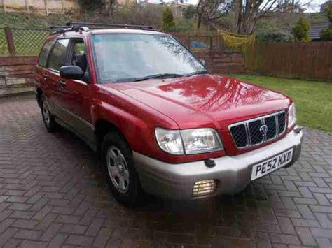 maroon subaru subaru 2002 forester all weather maroon grey 2 owners from