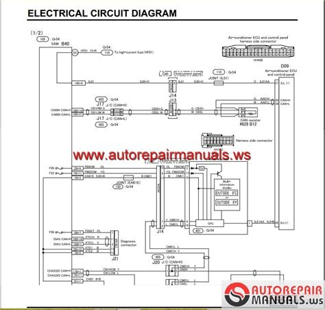 mitsubishi canter wiring diagram diagrams 994749 mitsubishi canter wiring diagram