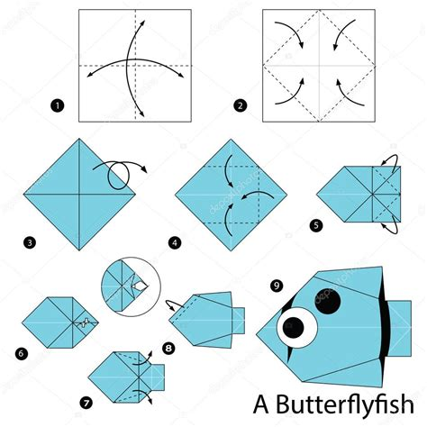 How Do You Make A Paper Step By Step - paso a paso las instrucciones de c 243 mo hacer origami peces