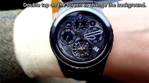 make calendar default samsung galaxy s3 gear o clock tourbillon gmt animated tourbillon
