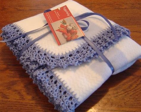 crochet fleece blanket pattern crochet edgings for baby blankets items similar to