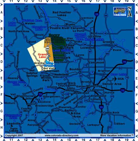 grand in colorado map grand lake colorado map central co map colorado