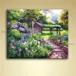 Home Decor Canvas Classical Abstract Landscape Painting Oil On Canvas Wall