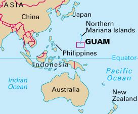 so where is guam anyway bergen beat