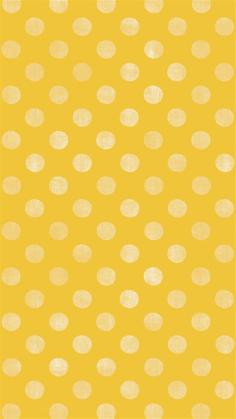 black yellow wallpaper iphone iphone 5 wallpaper yellow polkadot pattern always