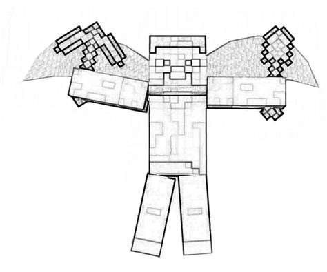 minecraft guy coloring page another minecraft coloring pages coloring kids