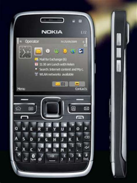 nokia e series mobile nokia e72 new eseries mobile with qwerty keyboard 5mp