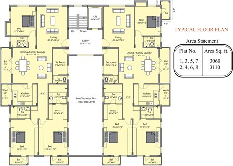 savoy floor plan 3060 sq ft 3 bhk 3t apartment for sale in golden homes