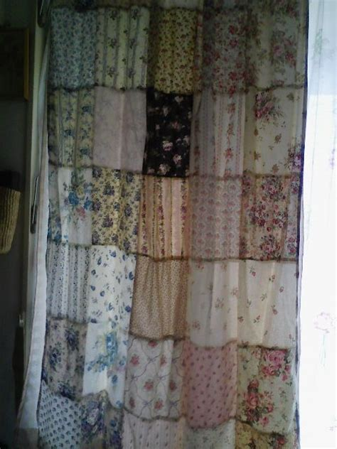 Patchwork Quilt Curtains - 11 best images about shower curtain ideas on