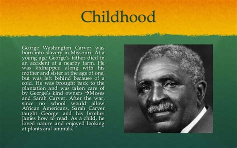 early life of george washington facts george washington carver