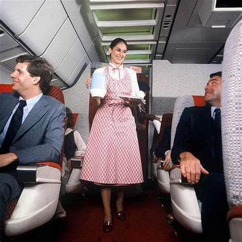 Flight Attendant Fashion by 1970s Flight Attendant Flight Attendant Pictures