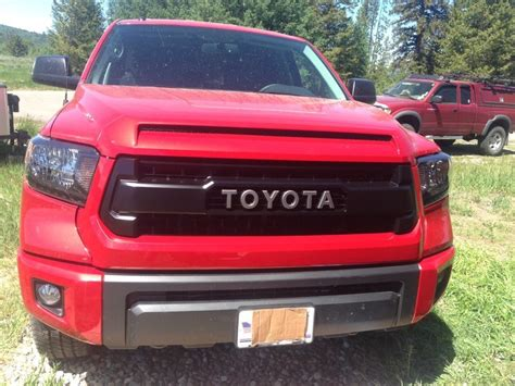 toyota ta grille trd pro grille page 2 toyota tundra forum
