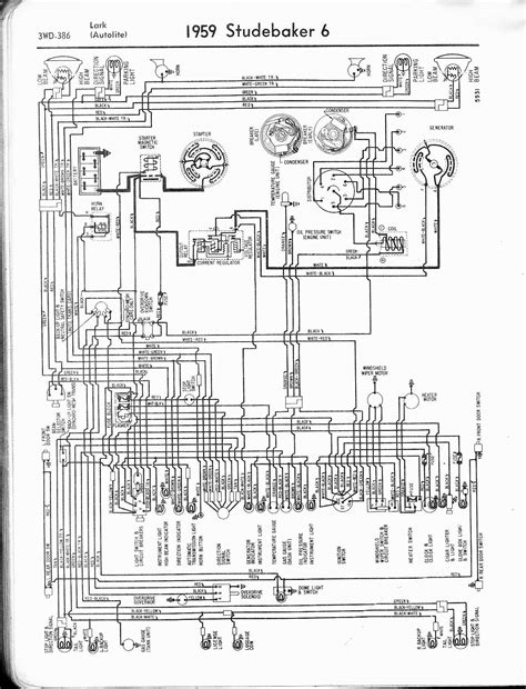 studebaker wiring diagrams the car manual project