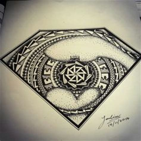 batman mandala tattoo superman mandala my drawings pinterest mandala