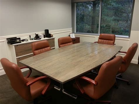 custom conference table  ajc woodworking custommadecom