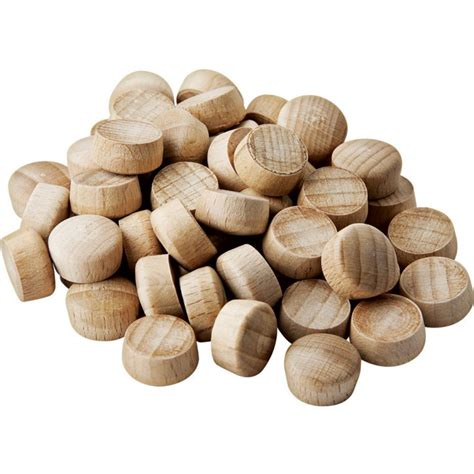 woodworking plugs dome top wood plugs 3 8 quot diameter rockler woodworking