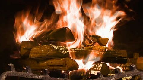 fireplace screensaver hd