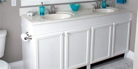 how to raise a bathroom vanity cabinet how to raise up a short vanity furniture legs tutorials