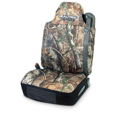 realtree camo seat covers canada realtree neoprene universal seat cover 618301 seat