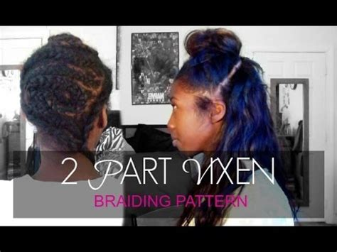 yay 2 part vixen weave install my first time doing install vixen sew in by yourself from start easy brai