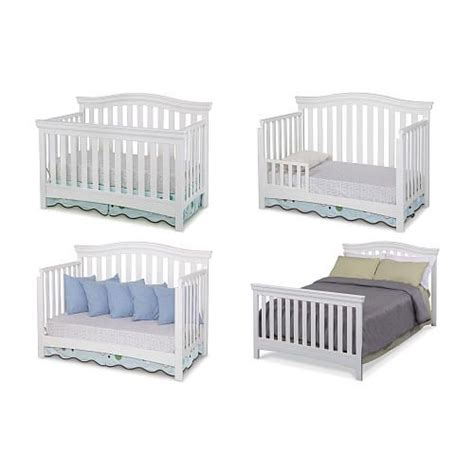 Convertible Crib Babies R Us Delta Bennington Bell 4 In 1 Convertible Crib White Ambiance Babies R Us And Babies