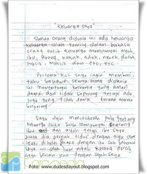 presamtakon contoh teks karangan narasi bertema pelajar