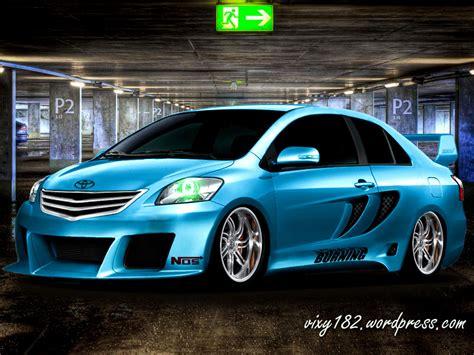Accu Mobil Toyota Vios design modifikasi mobil sedan toyota vios vixy182 s