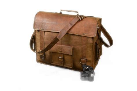 Handmade Satchel - the classic 18 handmade leather messenger bag satchel
