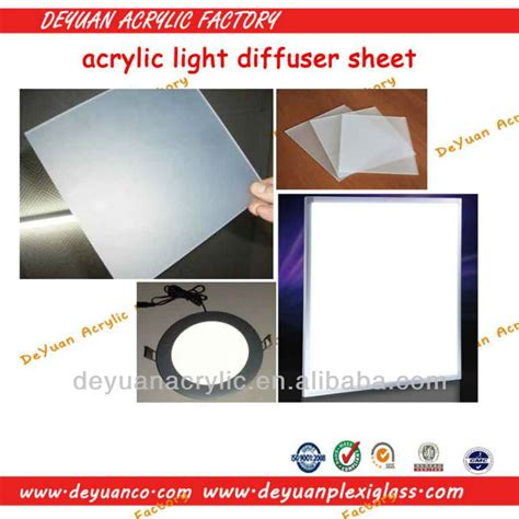 3m light diffuser film hoogwaardig acryl led light diffuser film acryl hanger