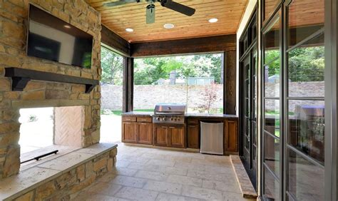 2 Sided Outdoor Fireplace by Make Your Home With A 2 Sided Fireplace