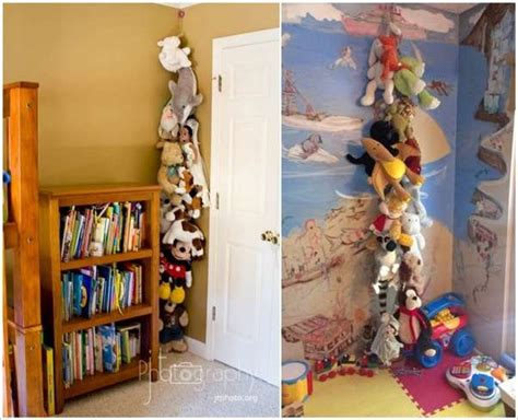 Planters That Hang On The Wall by 15 Cute Stuffed Toy Storage Ideas For Your Kids Room