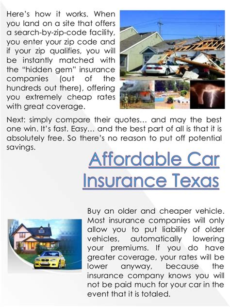 Best Auto Insurance In Texas Affordable Car Insurance