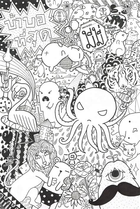 doodle draw animals animal doodle by memiann on deviantart