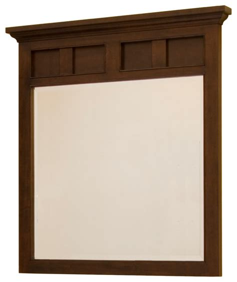 somerset framed mirror craftsman bathroom mirrors by - Craftsman Mirrors Bathroom
