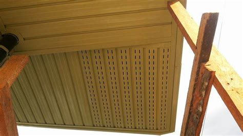 Spandrel Ceiling Installation by Metal Fascia Trading Roofing Supplier