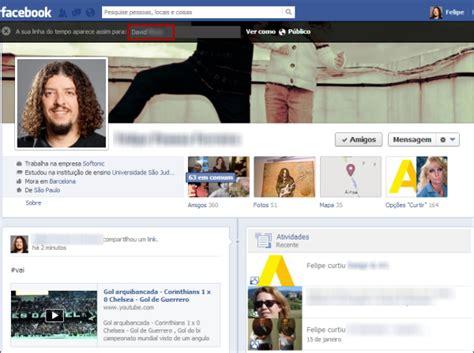 fotos para perfil no facebook como ver o seu perfil no facebook e saber como os outros