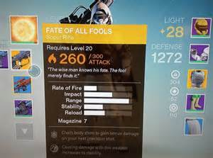 Destiny just one player in the world has the fate of all fools exotic