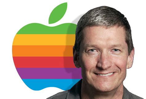 apple ceo tim cook already making his mark on apple tech digest
