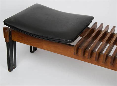 mid century modern bench mid century modern bench by inge e luciano rubino at 1stdibs