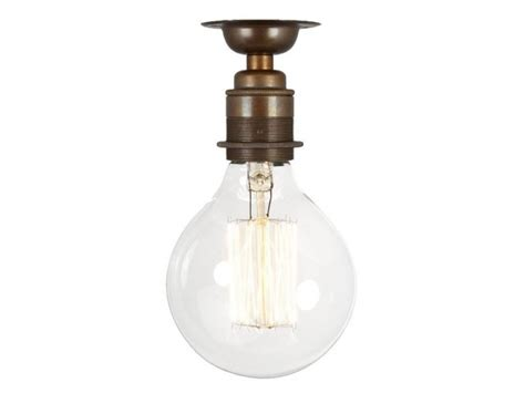 Period Fixed Ceiling Light Nickel Or Antique Brass Fixed Ceiling Lights